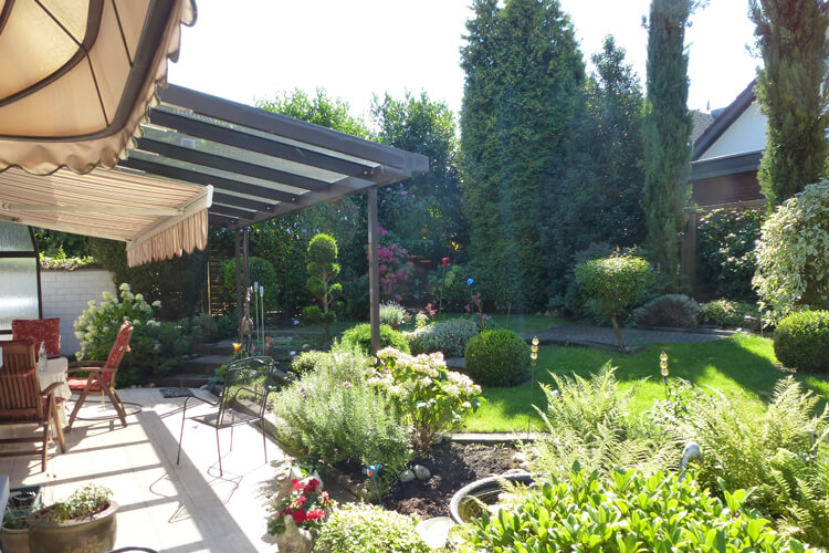 Garten sanieren